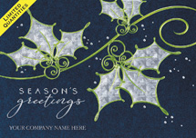 Midnight Delight Holiday Cards