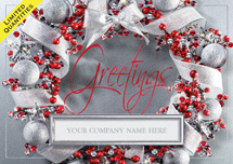 Frosted Flair Holiday Cards
